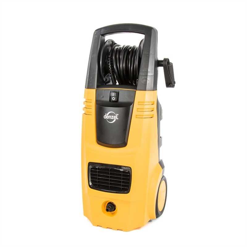 Моечная машина высокого давления HPС-2600, 2600 Вт, 190 бар, 6,5 л/мин, колесная DENZEL (58209)