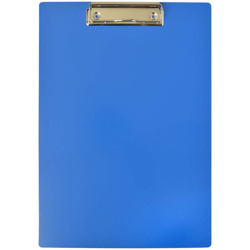 Анонс-изображение товара доска-планшет с зажимом officespace а4, пластик, синий, 245656