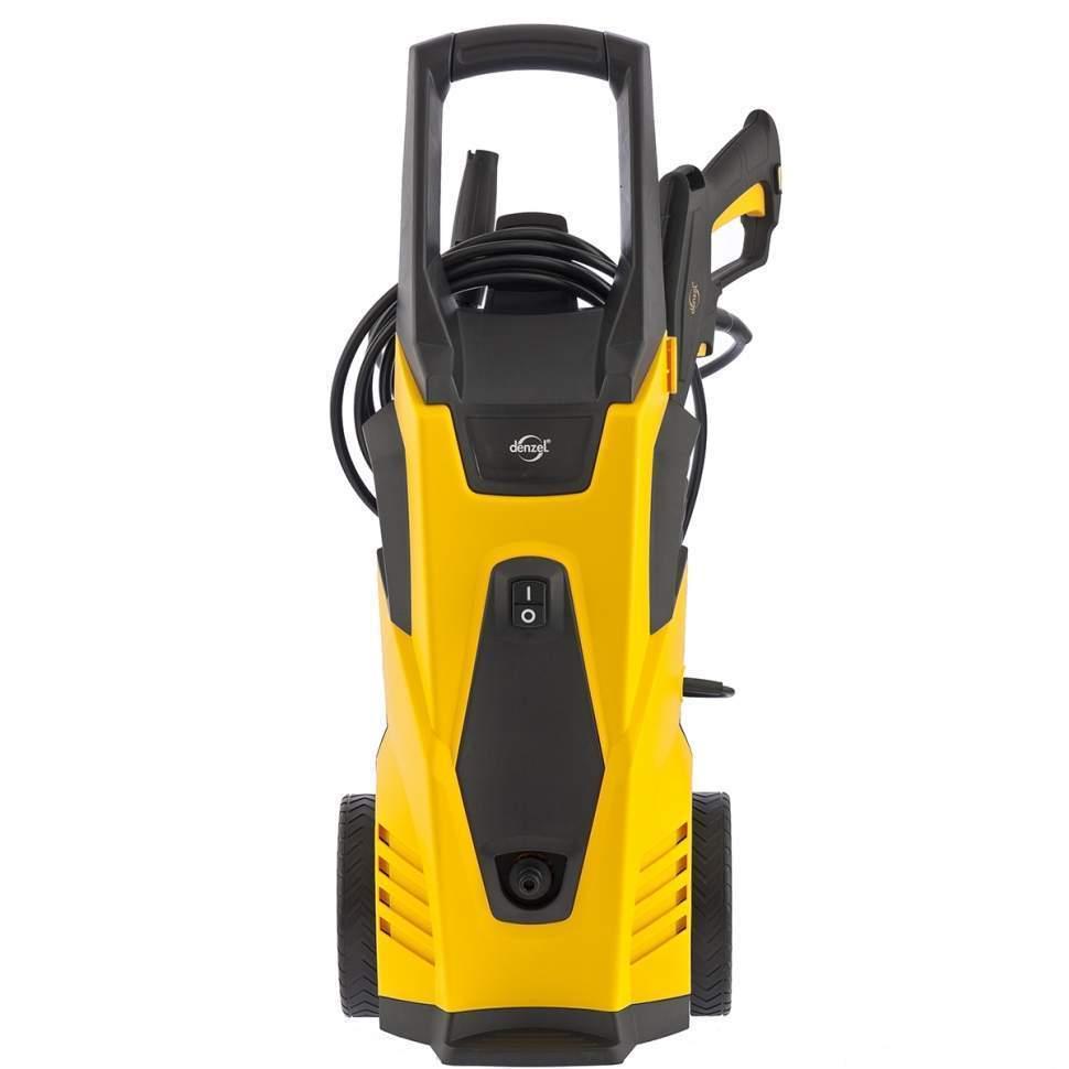 Моечная машина высокого давления HPС-1600, 1600 Вт, 125 бар, 5,5 л/мин, колесная DENZEL (58207)