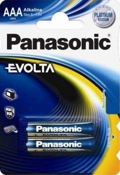 элемент питания panasonic evolta lr03/286 bl2 (арт. 326955)