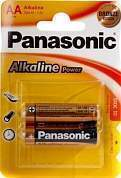 элемент питания panasonic alkaline power lr6/316 bl2 (арт. 220219)
